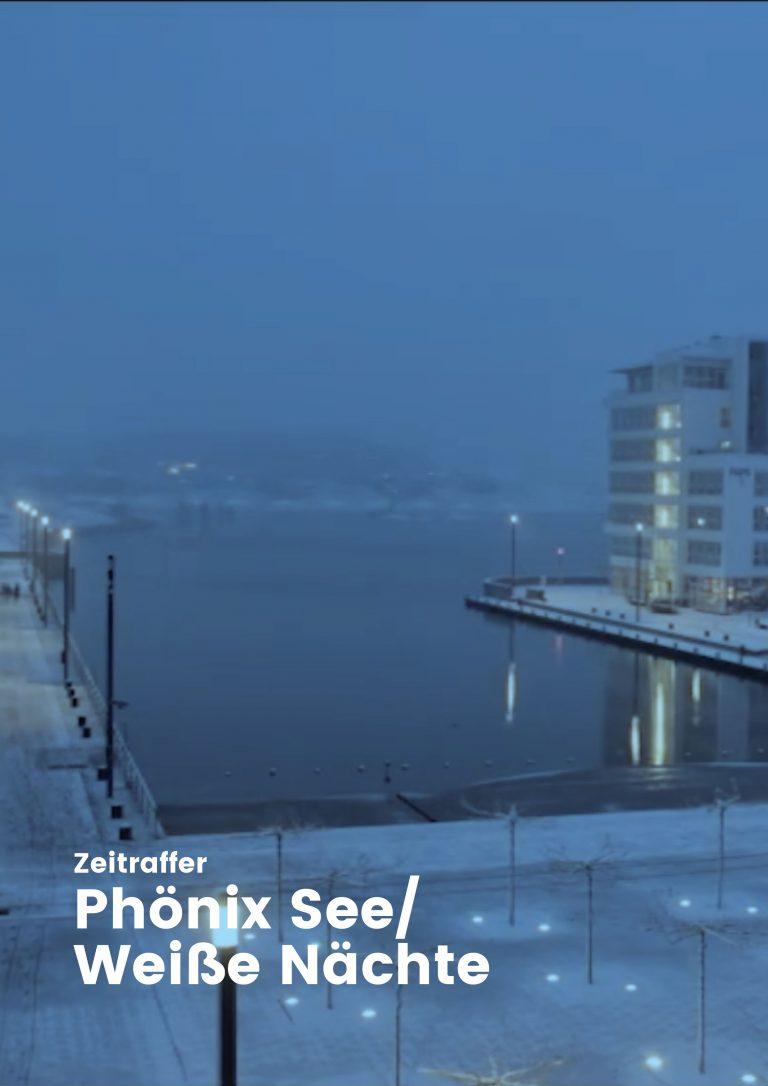 Zeitraffer Phönix-See